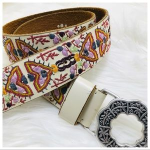 Lucky Brand | Embroidered Belt